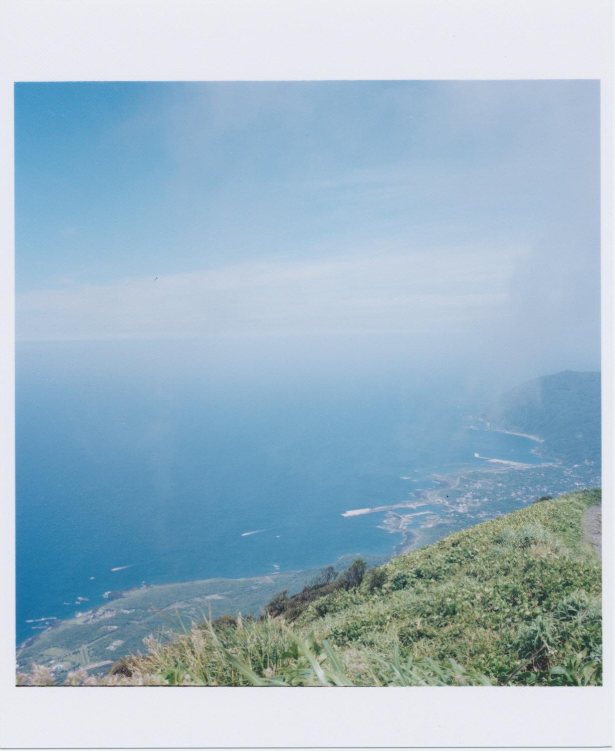 八丈富士からの眺め