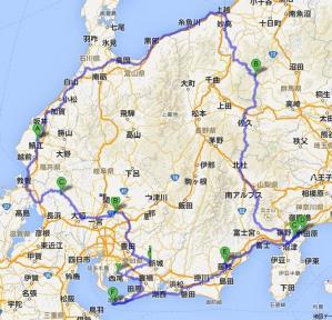 東征マップ