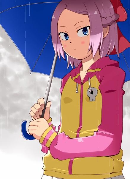 モモ梅雨小