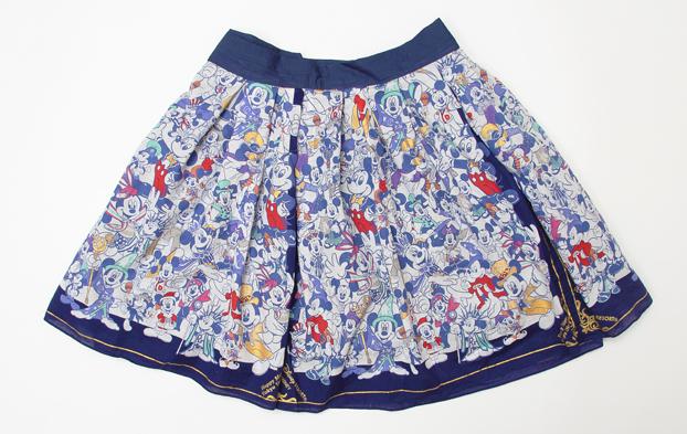 歴代ミッキースカート1