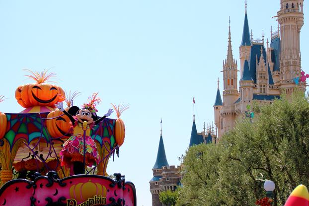 お城とミニー1