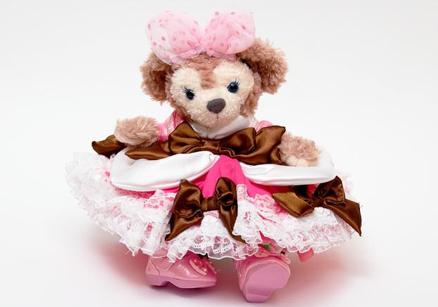 ポーチメイコス*テーブルミニー風ドレス1
