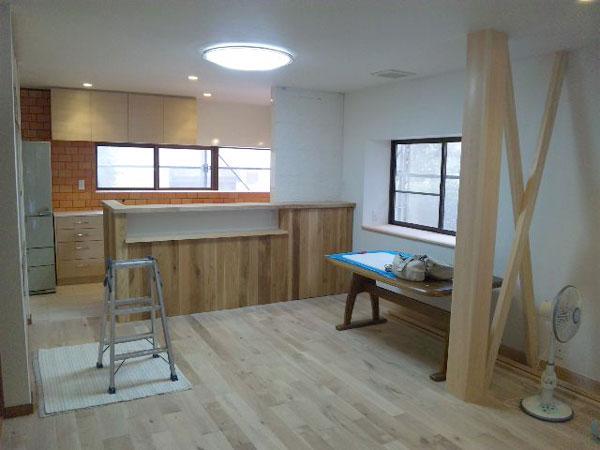 京都/女性建築士池田デザイン室戸建リノベーション