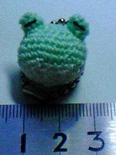 ボールチェーン蛙♪