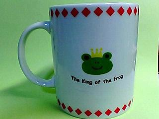 蛙王様マグカップ!