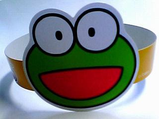 カールおじさんの蛙