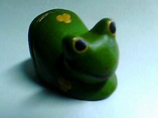 蛙メモスタンド☆