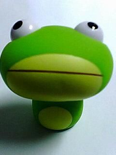 びっくり蛙♪