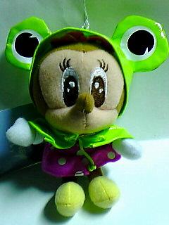 蛙レインコートミニー