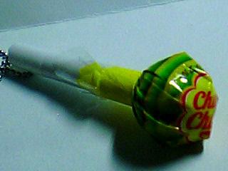 グリーンアップル味?
