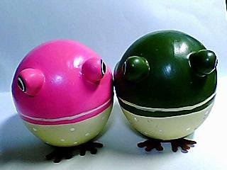 陶器の蛙♪