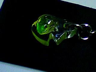 葉っぱ乗り蛙 2
