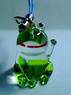 しあわせ手招き蛙