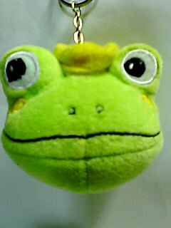 カエルの王様マスコットぬいぐるみ