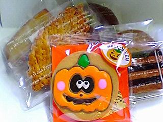 ハロウィンクッキーたち