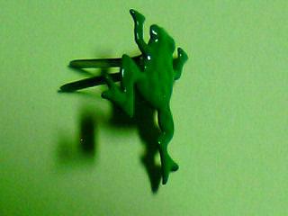 蛙の割りピン