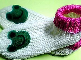 カエル靴下