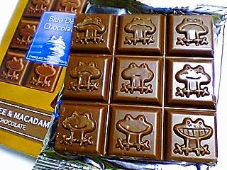 ブルーデイ チョコレート