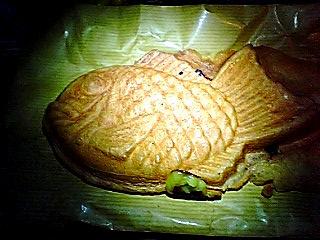 バナナクリーム鯛焼き