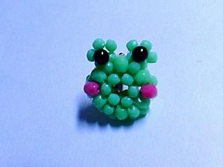ビーズドーナツ蛙リベンジ