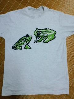 蛙Tシャツ一号