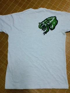 蛙Tシャツ 後ろ