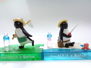 AcQuA×Suicaペンギン