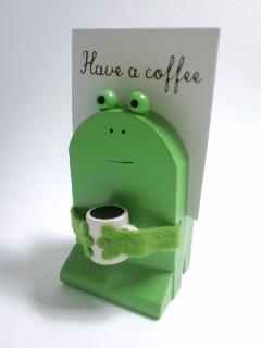 まったりコーヒーメモスタンド