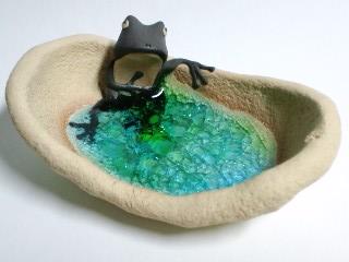 湯浴み?蛙 2