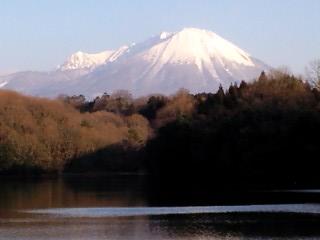 大山と書いて、だいせんと読みます。