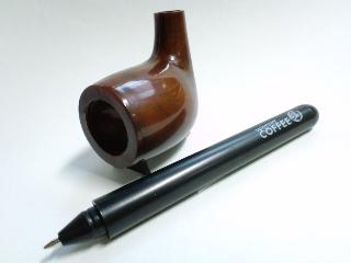 パイプ型ボールペン