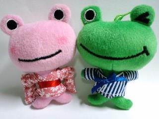 宮城トヨタの蛙たち 浴衣