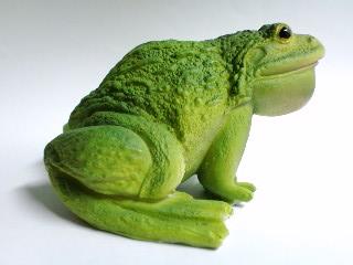 ガーデングッズ 鳴き蛙