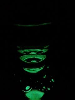 ミニグラス夜光中