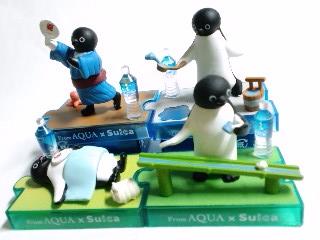 AQUA×Suica 夏ペンギン