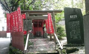 宇都宮辻子幕府跡(宇都宮稲荷神社)