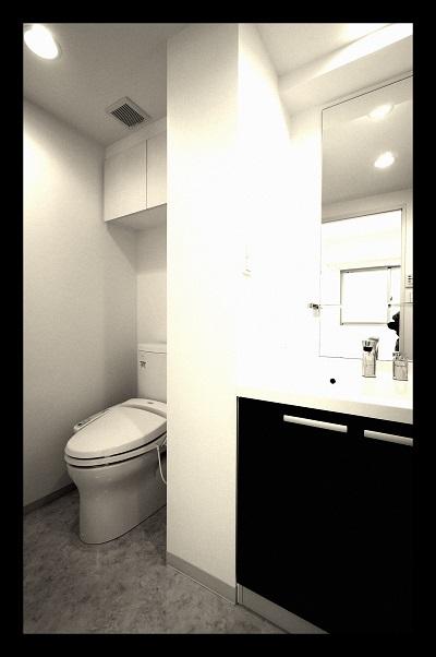 KDX千早レジ 洗面トイレ