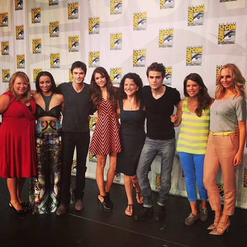 TVD cast at SDCC