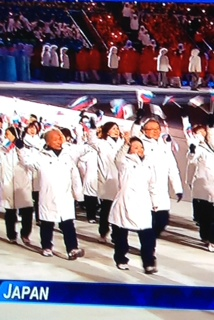 ソチオリンピック開会式
