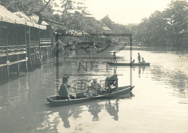 大正?昭和の舟遊び