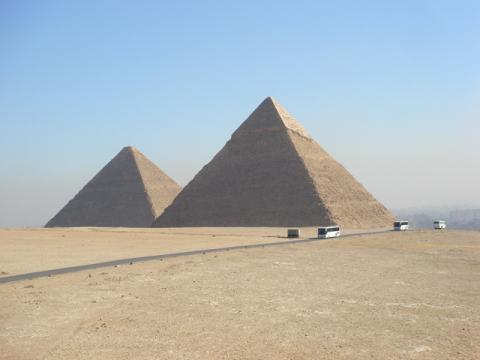カイロのピラミッド