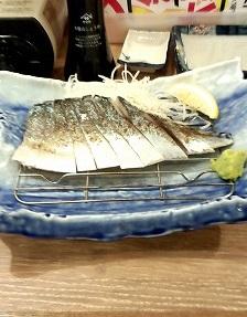 〆サバの炙り(755円)磯丸水産