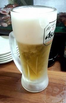 生ビール4杯目三国