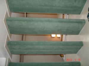 カーペット張替した階段