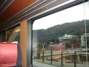 小田急ロマンスカーMSE(60000形)の車内