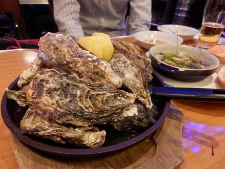 焼き牡蠣も産地色々