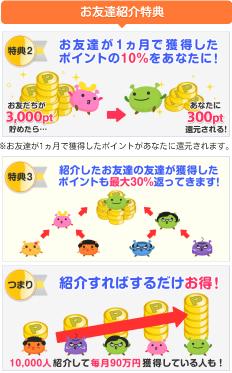 『げん玉』スマホ版友達紹介1