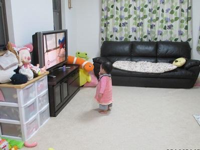 テレビが近くで観たい