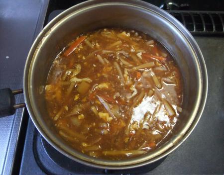 一応スープ完成・笑