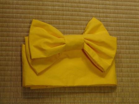 浴衣の作り帯 (Pちゃん用)